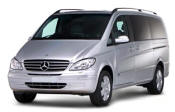Chauffeur driven Mercedes Viano people carrier - Up to 7 passengers in comfort, from Cars for Stars (Wirral)